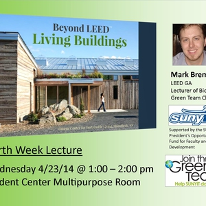 Beyond LEED: Living Buildings Earth Week Lecture 2014