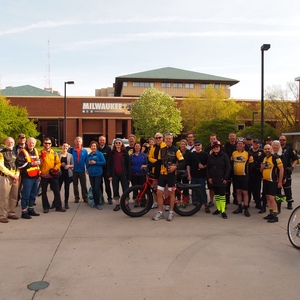 Town-Gown Showdown National Bike Challenge at UW-Milwaukee