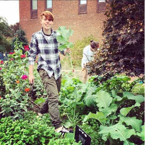 Edible Campus UNC Student Volunteers