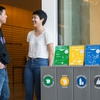 Students and Zero Waste Stations