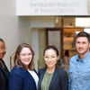 Staff members and students involved in antiracism work at AU's Antiracism Center