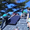 Bates College students install solar
