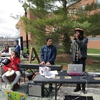 Souls of Zion Reggae Band performing at UConn's Earth Day Spring Fling event.