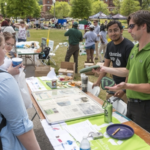 UAB Recycling Earth Day on the Green