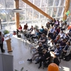 Campus Sustainability Leadership Awards presented in the new Agriculture-Forestry atrium