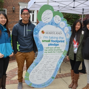The University of Maryland's Small Footprint Pledge