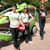 Promoting Environment Week and Pogo CarShare.