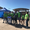 New Mexico State University Business  Council Earth Day volunteers