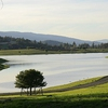 Felt Lake is the source of the non-potable lake water that supplies most of the irrigation to Stanford's campus.