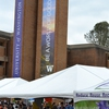 Dozens of exhibitors, including student organizations, academic departments and community partners, were on the University of Washington's Red Square to celebrate Earth Day.