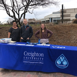 Creighton University Leads Pledge to End Plastic Pollution