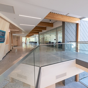 Hertiage building re-envisioned, modernized and integrated with a 21st-century addition to become an energy-efficient and sustainable living laboratory