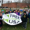 Roosevelt University (RU) plants a tree for their Arbor Day Observance.