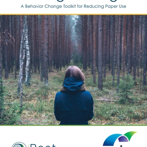 Turning the Page: A Behavior Change Toolkit for Reducing Paper Use