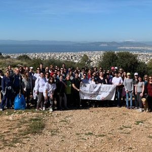 ACG Volunteers Reforest Mt. Hymettus!