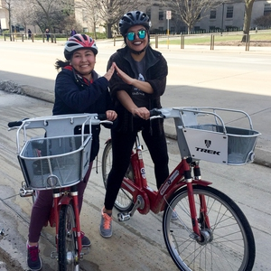 Bike Ride for Earth Week, UW-Madison
