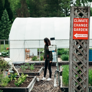 Cornell Climate Change Demonstration Garden
