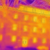 thermal image of administration building