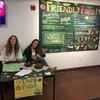 Students Tabling at Rethink Food Community Team Event