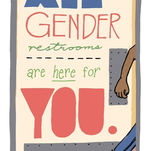 Portland State University All Gender Restroom Campaign