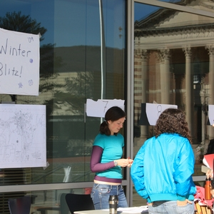 WinterBlitz: Williams College students Weatherize Low-income Homes in the Local Community