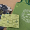 A snapshot of the Earth Week swag and passport schedule