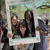 Boston University employees enjoy Boston University's Earth Day Festival