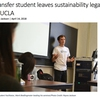 Transfer student leaves sustainability legacy at UCLA