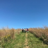 University of Cincinnati Students on a tour of Fernald Nature Preserve