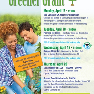 Suffolk County Community College - Earth Week!