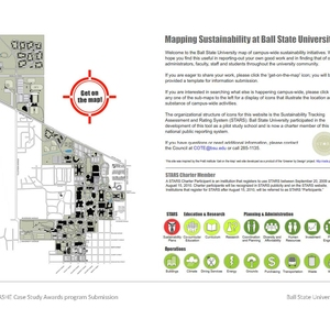 Get-on-the-Map: Mapping Sustainability at Ball State University