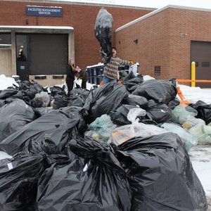 Going Above and Beyond Niagara College's Waste Diversion Target