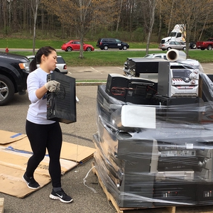 Fredonia Electronics Recycling Day April 22 2017