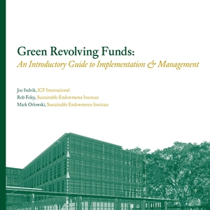 Green Revolving Funds: An Introductory Guide to Implementation and Management