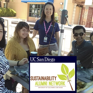 UC San Diego Sustainability Alumni Network members get a tour of Birch Aquarium on campus during alumni weekend in June 2018.