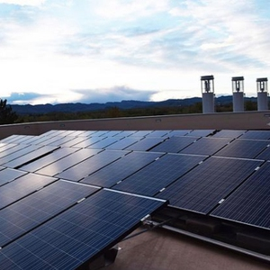 22 kW Rooftop Array: Powerhouse Energy Campus