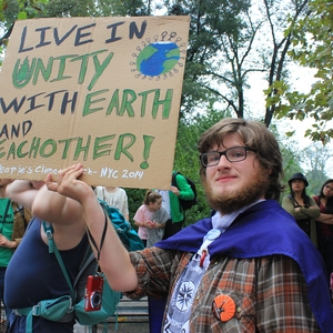 Unity College Students at the People's Climate March