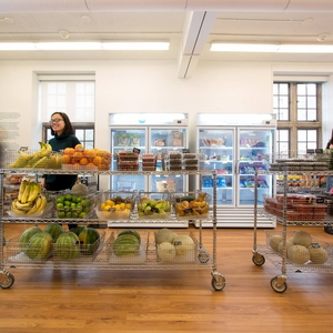 "Anabel's grocery is a low cost grocery  ""for students, by students""."