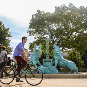 Bike2Campus Week at Loyola University Chicago