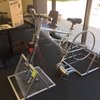 Student Built Bike Charging Station