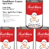FoodShare Grand Opening flyer