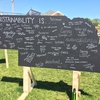 What sustainability is for UNL students
