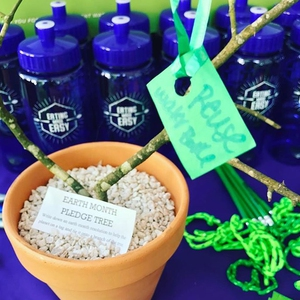 SFA Dining Earth Month Kick Off