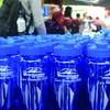 CSUSM Journey to Zero Waste water bottles made with recycled content