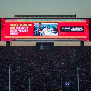 Los Angeles Memorial Coliseum Zero Waste Program