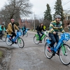 UVM Bike Parade for Greenride Bikeshare Launch