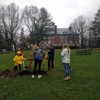 Tree planting @ St. Lawrence University