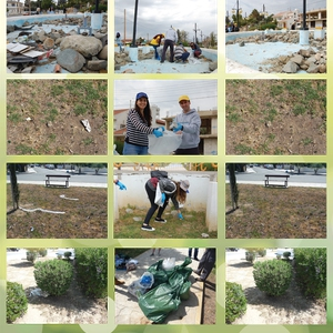 CING, CSMM and the Municipality of Saint Dometios joined forces with Let's Do it Cyprus to clean two local parks!
