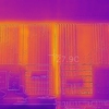 thermal image of ARCH building