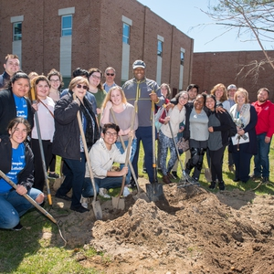 Suffolk County Community College's Arbor Day Celebration!